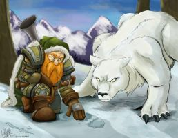 Dwarf Hunter by Cadychan