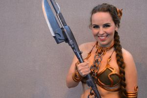 Slave Leia Cosplay (4) by masimage