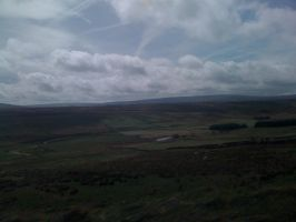 View over the Yorkshire Pennines by VestibulumNocturnis