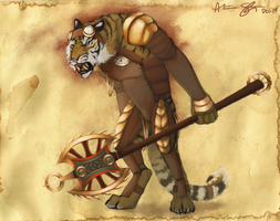 Steampunk Tiger by xXNuclearXx