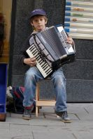 Young musician by aaaaaight