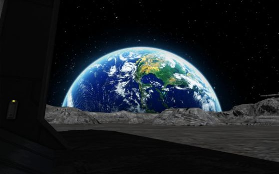 Space Engineers - Bright Blue Earth by Shroomworks