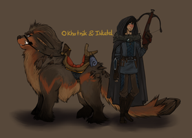 Okho and Iska by Morthern