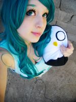 BMO - Adventure Time cosplay test by MelodyxNya