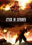 Attack On Sephiroth by ArtmasterRich