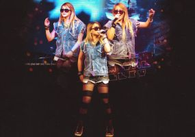 ChaerinConcert by redsquizofrenia