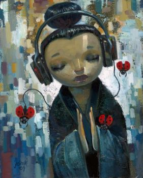 She Has Her Sources by jasinski