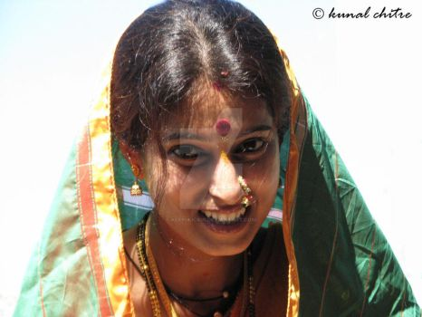 Traditional Indian Bride.. by keepclickin