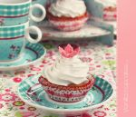 Flower cupcakes - vintage style by kupenska