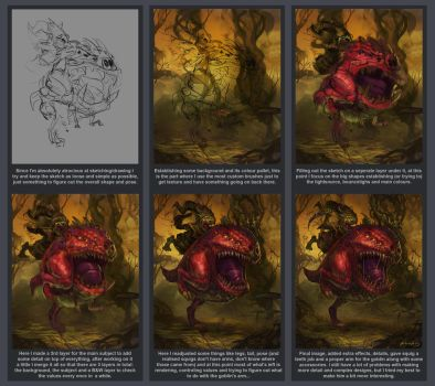 Squig Hopper - Step by step by GetsugaDante