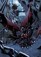 Spawn VS Clown by logicfun
