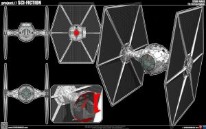 TIE Fighter by cosedimarco