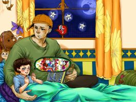 bedtime stories with kurt by MICHELANGELO12