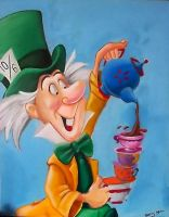The Mad Hatter by Bee-Minor
