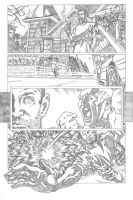 HAUNT VS. page 1 pencils by ejimenez