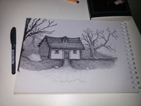 Old house by Celldweller797