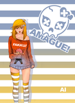Amague! Chapter2 is out! by thelastpierrot