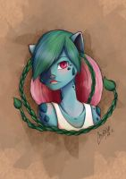 Ivyportrait by MaxFeathers