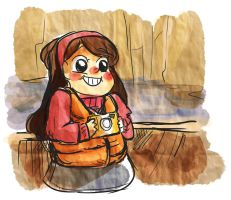 GRAVITY FALLS by manonquinn