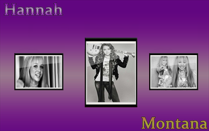 Hannah Montana Widescreen by bhast2