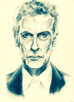 Peter Capaldi 12th Doctor by CPD-91