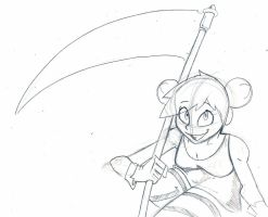 Sketch gift Yuki by InfectedLobster