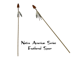 Native Series: Spear by Sheona-Stock
