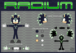 Radium the Hedgehog (Ref) by MostWanted06