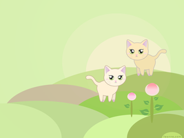 spring kittens by feanne