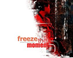 freeze the moment by giezkaluvorsky