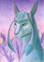 ACEO - Crystal world by TheMetasepia