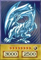 Blue-Eyes White Dragon - 4Kids Version by DaniOcampo1992
