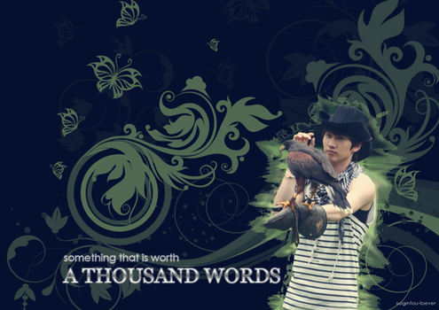 Thousand Words by suigintou-loever