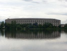 Congress Hall and water by Belazikkal
