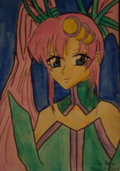 Lacus Clyne Songstress Outift by j-amitaf