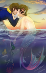 Kisses In The Sunset - Collab by xNiallersPotatox