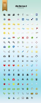iMix Mini Icons Set II - Colours Version by crazygenk