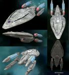 USS Prometheus in Spore by Silent-Valiance