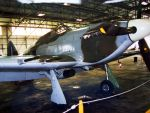 IN THE HANGER BBMF HURRICANE by Sceptre63