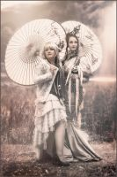 Steampunk Geishas by S-T-A-R-gazer