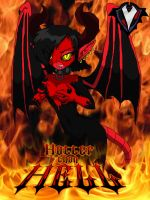 Hotter than Hell - Masked Succubus by PlayboyVampire