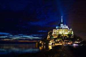 Le Mont Saint Michel by LordGuardian