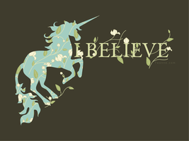 I Believe In Unicorns by feanne