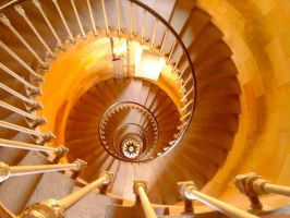 Spiral Staircase by AUJEANPAS