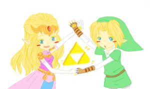 The Triforce by MuffinCrave