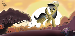 Daring Do by JuBrony