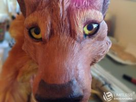 Werewolf Commission Sneak Peek by LimitlessEndeavours