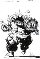 Juggernaut on the run - Finch - Egli - Ink by SurfTiki