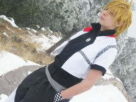 Roxas: Winter in Twilight Town by pixiedustling