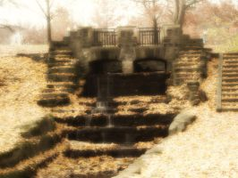 Autumn Bridge by Bound-By-Leather